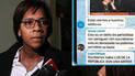 'La Botica': Los insultos de Leyla Chihuán contra periodistas de La República