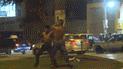 VMT: hombres se agarraron a golpes en los exteriores de discoteca [VIDEO]