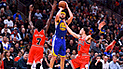 Klay Thompson logra impresionante récord de triples en la NBA [VIDEO]