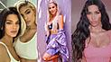 Kim Kardashian y sus hermanas lucieron como sexys ángeles de Victoria's Secrets