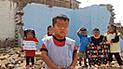 Niño pide a Martín Vizcarra la reconstrucción de su colegio derrumbado por lluvias [VIDEO]
