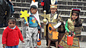 Niños de Cusco se disfrazaron de incas en Halloween
