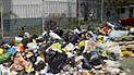VMT: basura y desmonte invade las veredas y calles desde hace un mes [VIDEO]