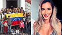 Korina Rivadeneira no olvida a venezolanos y se une a campaña de ayuda