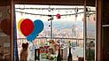 Facebook: Captan el momento exacto en que globos elevan por los cielos a un perro [VIDEO]