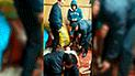 Huaraz: mujer cae de azotea y sobrevive
