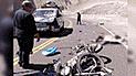 Dos motociclistas mueren en accidentes de tránsito en La Libertad