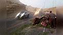 Fallece conductor tras accidente en carretera de Arequipa  [VIDEO]