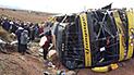 Puno: Pedirán prisión contra chofer de bus que causó la muerte de 20 personas