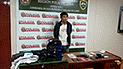 Policía detiene a mototaxista acusado de robo con réplica de pistola