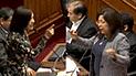"""Foronda y Salazar se enfrentan por calificativo de """"terrorista"""" [VIDEO]"""