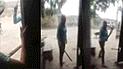 Puente Piedra: mujer amenaza con machete a sus vecinos por defender a sus perros [VIDEO]