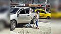 YouTube viral: señora enfurece al ver a su esposo en cita con su amante y los agarra a batazos [VIDEO]