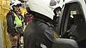 Chofer cambia de sitio con pasajera para evitar ser intervenido [VIDEO]