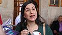 Verónika Mendoza cuestiona intento de sanción a congresista Dammert