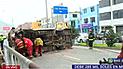 SJL: despiste de cúster deja seis heridos en la avenida Próceres