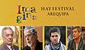 Arequipa: Conozca el programa de actividades del Hay Festival para este viernes