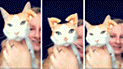 Facebook viral: quería jugar con su gato y le pone divertidos filtros a su rostro [VIDEO]