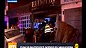 Surco: incendio en sanguchería causó alarma entre vecinos [VIDEO]