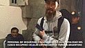 Turista argentino contento porque serenos encontraron su celular en Cusco [VIDEO]