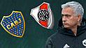 Boca vs River: Mourinho lanzó a su ganador para la final de la Copa Libertadores 2018 [VIDEO]
