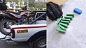 Detienen a dos motociclistas con 11 kilos de droga en Cusco