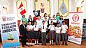 Chiclayo: premian a estudiantes ganadores del concurso pintando cuido el medio ambiente