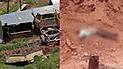 Cusco: Conductor muere tras la caída de su camioneta a barranco
