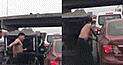 Surco: Mototaxista cierra el paso a conductor y causa destrozos en vehículo [VIDEO]