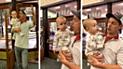 YouTube viral: captan curiosa reacción de un bebé cuando entra por primera vez a una biblioteca [VIDEO]