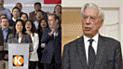 """Mario Vargas Llosa: """"El fujimorismo está íntimamente vinculado a la corrupción"""""""