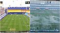 Boca vs River: Torrencial lluvia cae en La Bombonera y la final peligra [VIDEO]