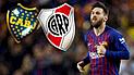 Boca vs River: ¿A qué equipo apoyará Messi en la final de la Copa Libertadores 2018?