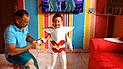 Facebook: Niño cumple el sueño de su padre al disfrazarse de Seiya de Pegaso [VIDEO]