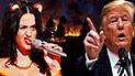 Katy Perry 'le dice sus verdades' a Donald Trump tras mensaje por incendio en California