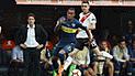 Boca Juniors empató 2-2 contra River Plate en la ida de la final de Copa Libertadores [RESUMEN]