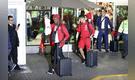 Así fue el recibimiento de la 'Blanquirroja' en aeropuerto tras su regreso de Rusia 2018 [FOTOS]