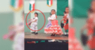 Facebook viral: niña comete terrible 'blooper' en plena actuación escolar [VIDEO]