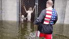 EE.UU.: el conmovedor rescate de perros encerrados durante huracán Florence