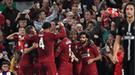 PSG cayó sobre el final ante el Liverpool por la Champions League