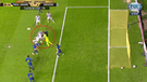 Boca vs Cruzeiro: Andrada quedó ensangrentado luego de un brutal choque contra Dedé [VIDEO]