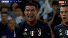 Juventus vs Valencia: la impotencia de Cristiano Ronaldo tras ser expulsado [VIDEO]