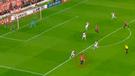 River Plate vs Independiente EN VIVO: el disparo de Meza que se estrelló en el travesaño [VIDEO]