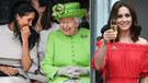 ¿Reina Isabel hace desplante a Kate Middleton y prefiere a Meghan Markle? [VIDEO]