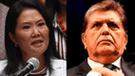 Ipsos: Keiko Fujimori y Alan García tienen el mayor rechazo de la población