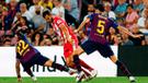 Barcelona no pudo contra Girona y empató 2-2 en la Liga Santander [RESUMEN]