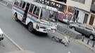 El Agustino: Delincuente es arrollado por cúster luego de robar celular[VIDEO]