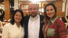Karina Calmet contra Lucho Cáceres por fuerte comentario 'antifujimorista'