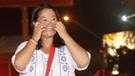 Keiko Fujimori mantiene su baja calificación positiva en los peruanos: 14 %