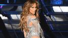 Jennifer Lopez llamó la atención al lucir ajustado jean cuando llevó a sus hijos al colegio [FOTOS]